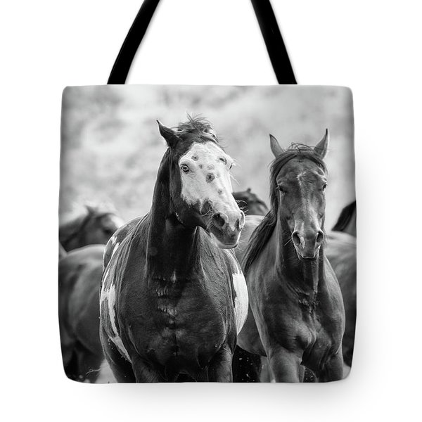 Horsepower Tote Bag