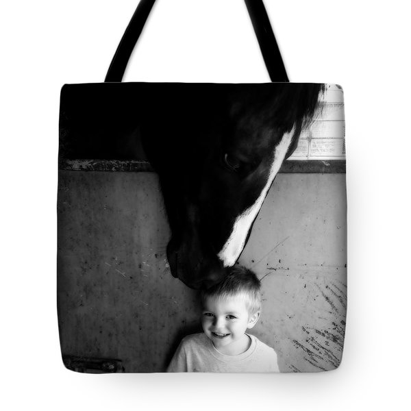 Horses Love Tote Bag