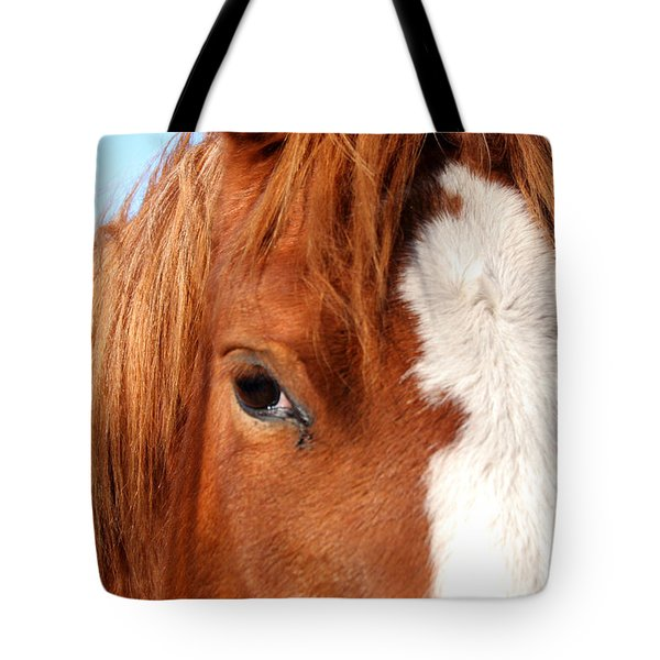 Horse's Mane Tote Bag