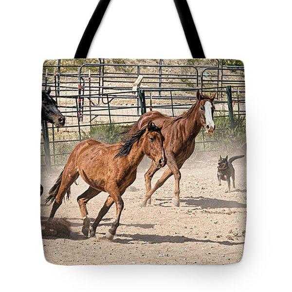 Horses Unlimited #3a Tote Bag