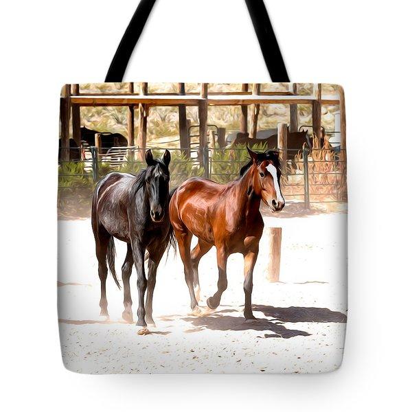 Horses Unlimited_6a Tote Bag