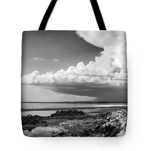 Tote Bag featuring the photograph Horseshoe Beach by Howard Salmon