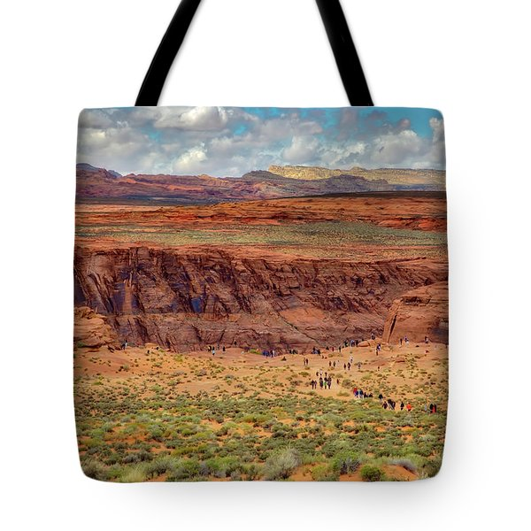 Tote Bag featuring the photograph Horseshoe Bend Arizona #2 by Jennifer Rondinelli Reilly - Fine Art Photography