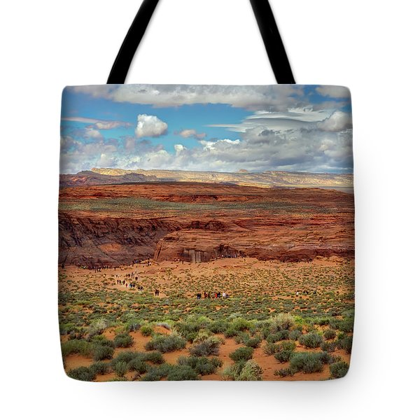 Tote Bag featuring the photograph Horseshoe Bend  - Arizona by Jennifer Rondinelli Reilly - Fine Art Photography