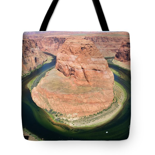 Tote Bag featuring the photograph Horseshoe Bend Colorado River by Steven Frame