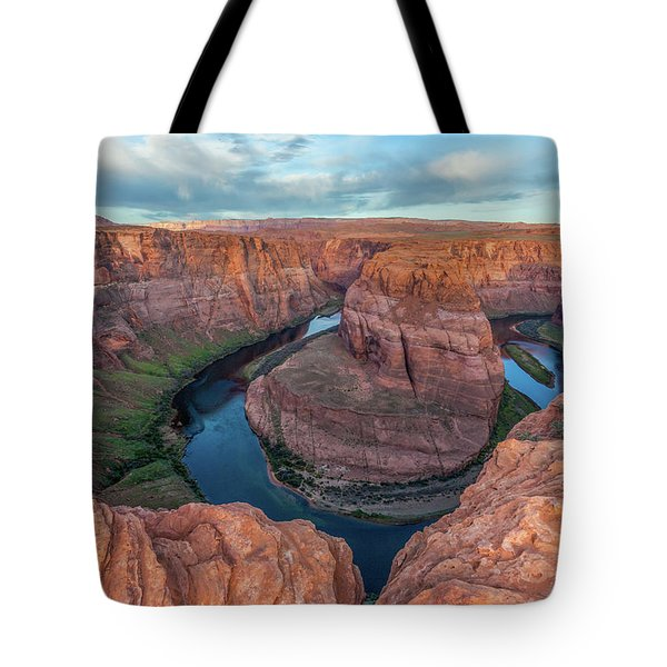 Horseshoe Bend Morning Splendor Tote Bag