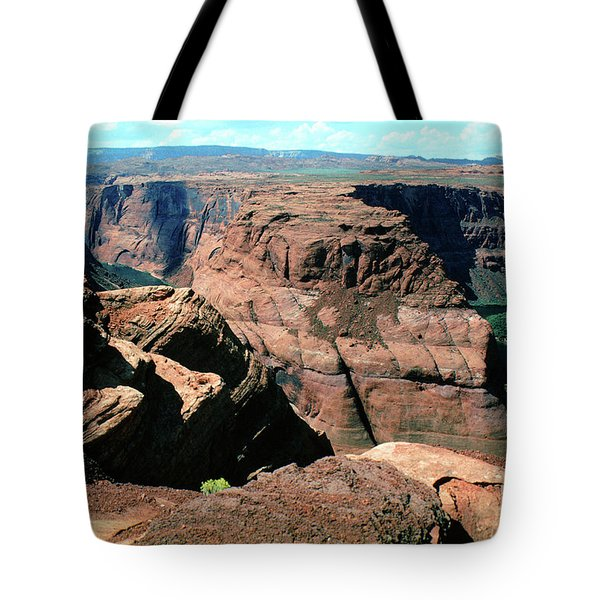 Horseshoe Bend Of The Colorado River Tote Bag
