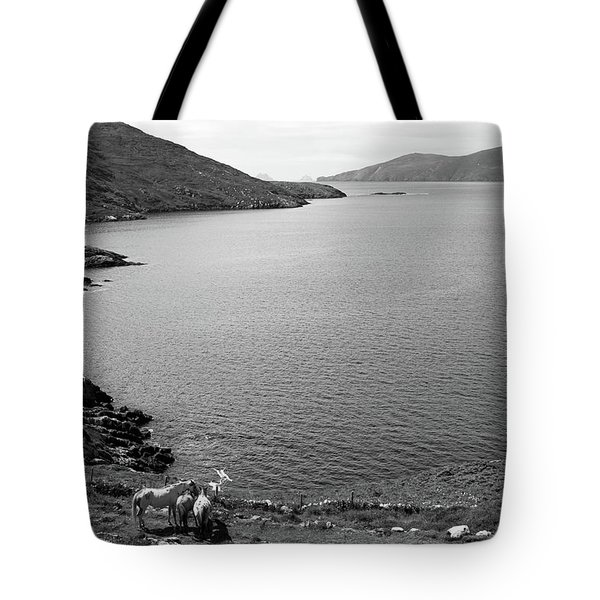 Horseshoe Coast Tote Bag