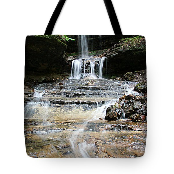 Horseshoe Falls #6735 Tote Bag