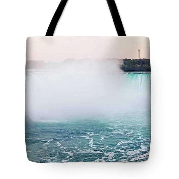 Horseshoe Falls At Dusk Tote Bag