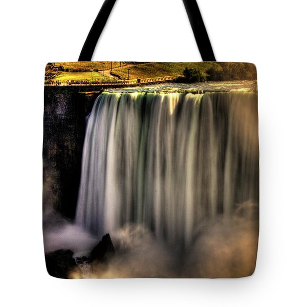 Horseshoe Falls Early Autumn No 03 Tote Bag