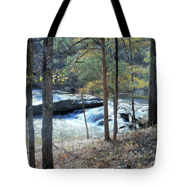 Horseshoe Falls Tote Bag by Kay Gilley