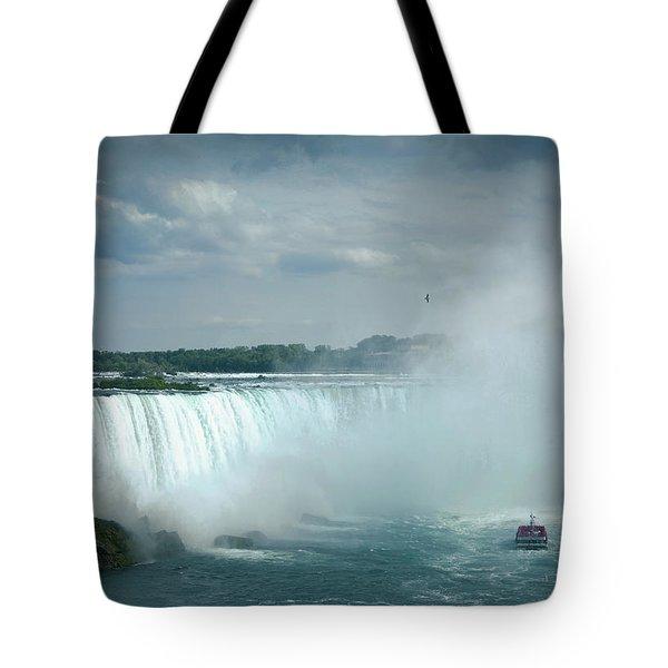 Horseshoe Niagara Falls  Tote Bag
