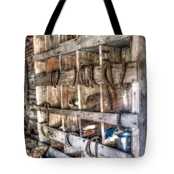 Horseshoes Tote Bag