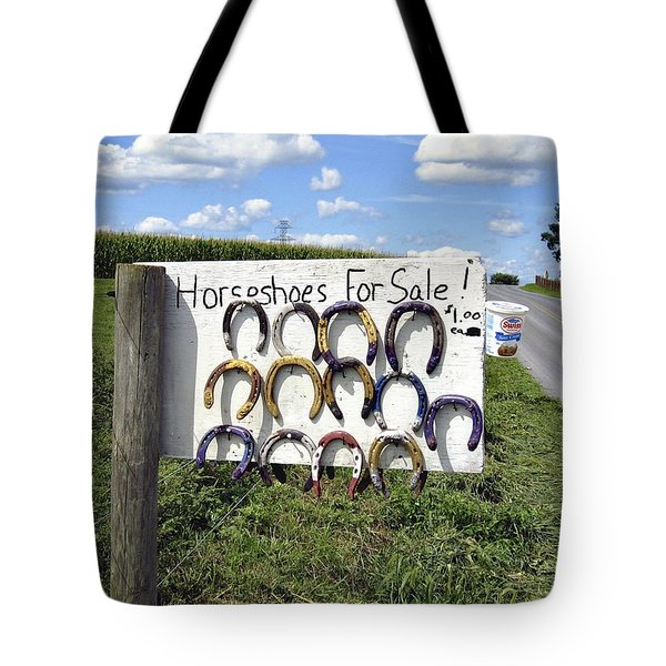 Horseshoes For Sale Tote Bag