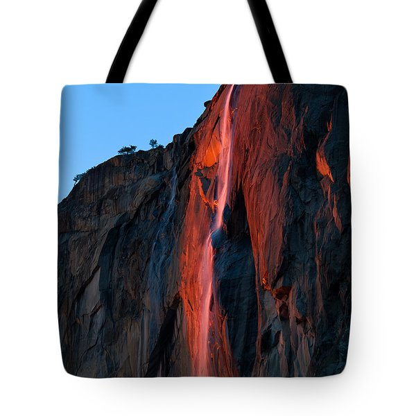 Horsetail Falls 2016 Tote Bag