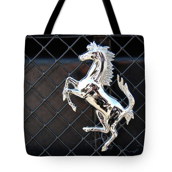 Tote Bag featuring the photograph Horsey by John Schneider