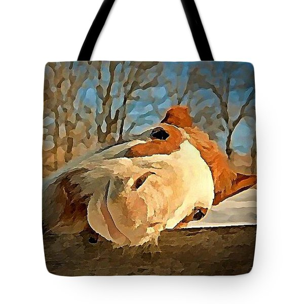 Horsing Around Tote Bag