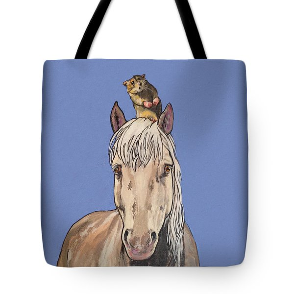 Hortense The Horse Tote Bag