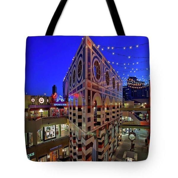Horton Plaza Shopping Center Tote Bag by Sam Antonio Photography