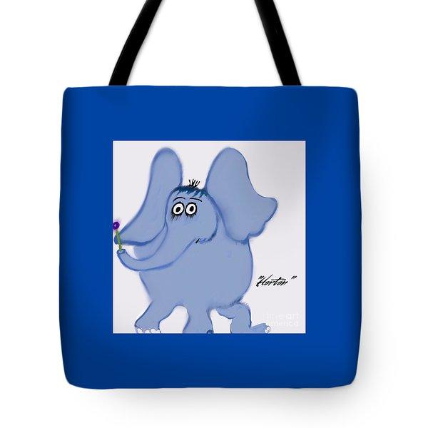 Horton Tote Bag by Susan Garren