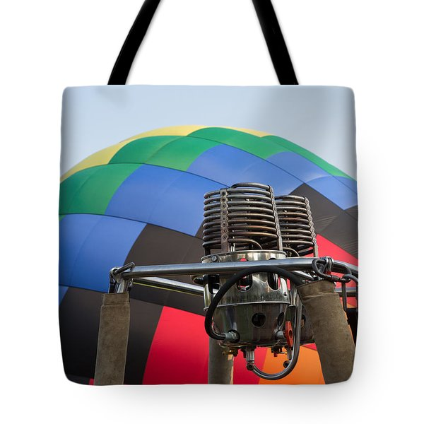 Hot Air Balloning Tote Bag