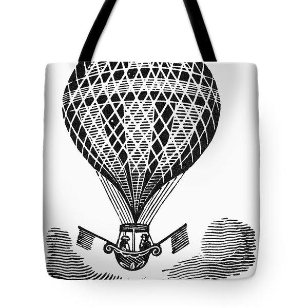 Hot Air Balloon Tote Bag by Granger
