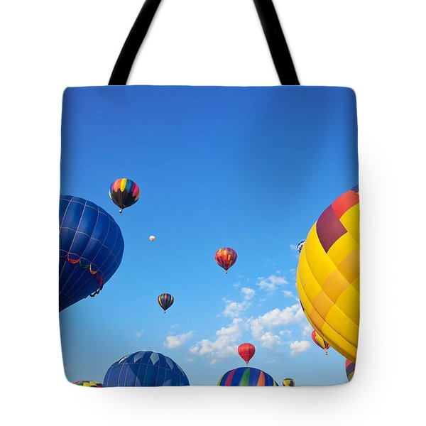 Hot Air Balloons 7 Tote Bag
