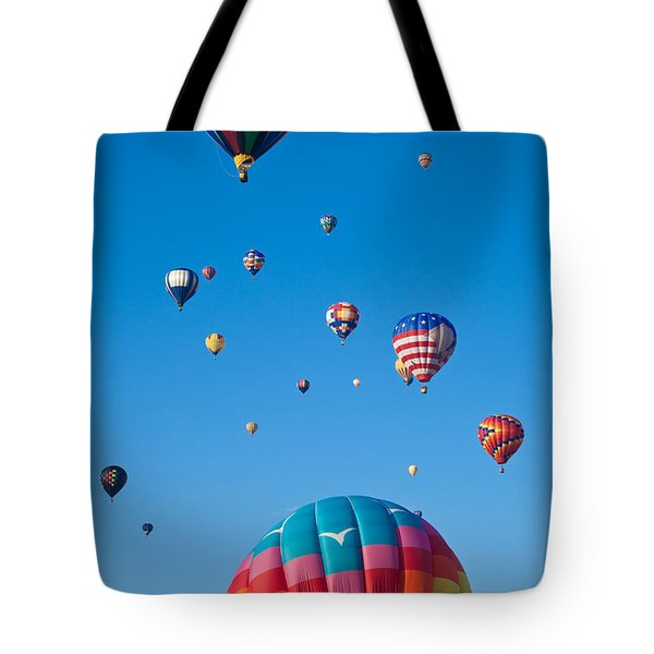 Hot Air Balloons 8 Tote Bag