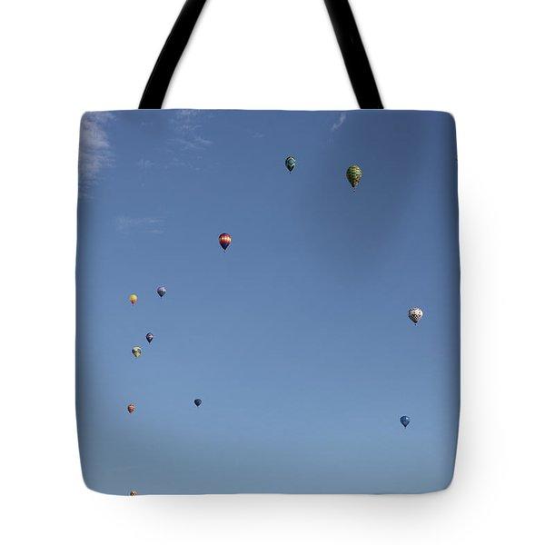 Hot Air Rising  Tote Bag