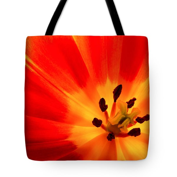 Hot Air Tulip Tote Bag