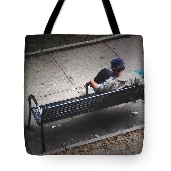 Hot And Homeless Tote Bag by Brian Wallace