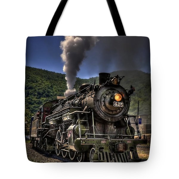 Hot And Steamy Tote Bag by Evelina Kremsdorf