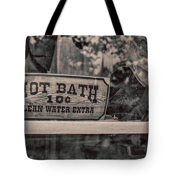 Hot Bath Tote Bag