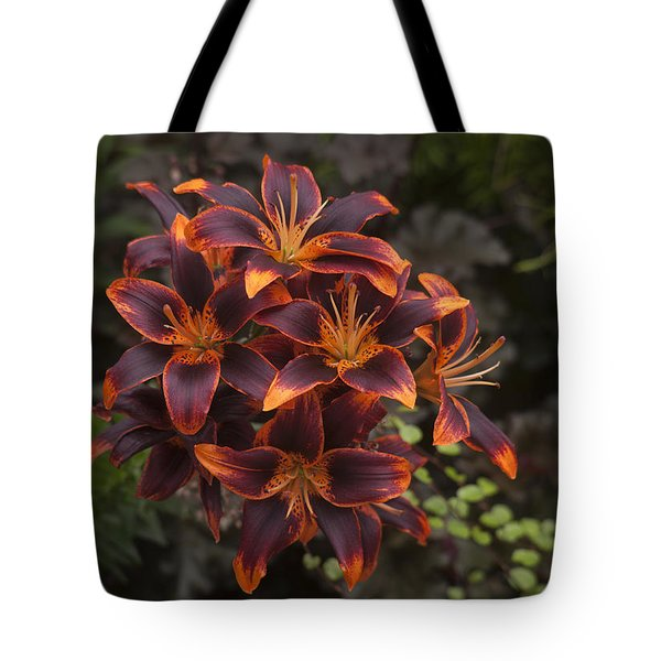 Hot Bouquet Tote Bag