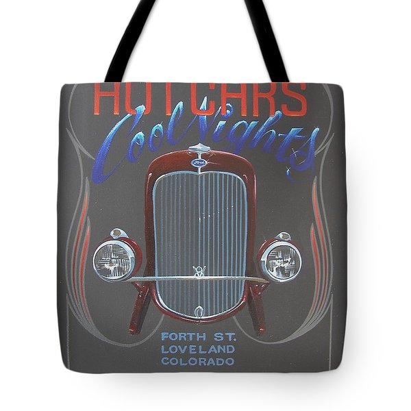 Hot Cars Cool Nights Tote Bag