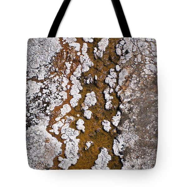 Hot Cascades Abstract Tote Bag