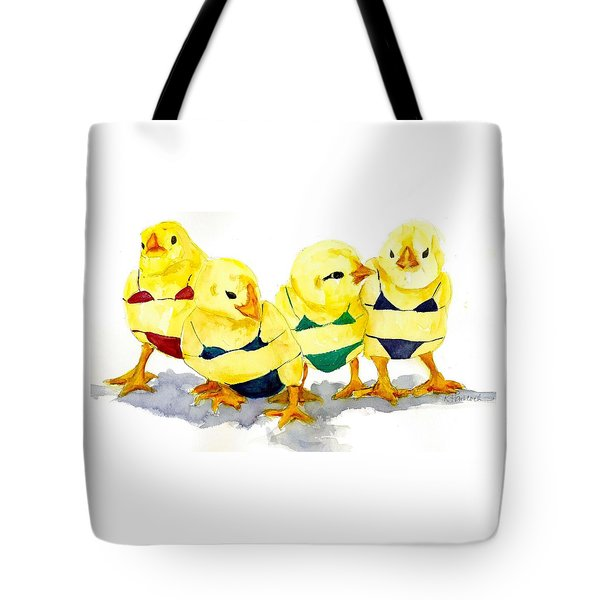 Hot Chicks...henpecking Not Allowed Tote Bag