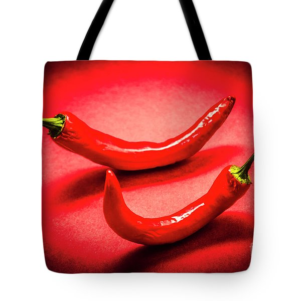 Hot Chili Kitchen Tote Bag