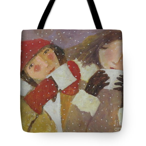 Tote Bag featuring the painting Hot Chocolate by Glenn Quist
