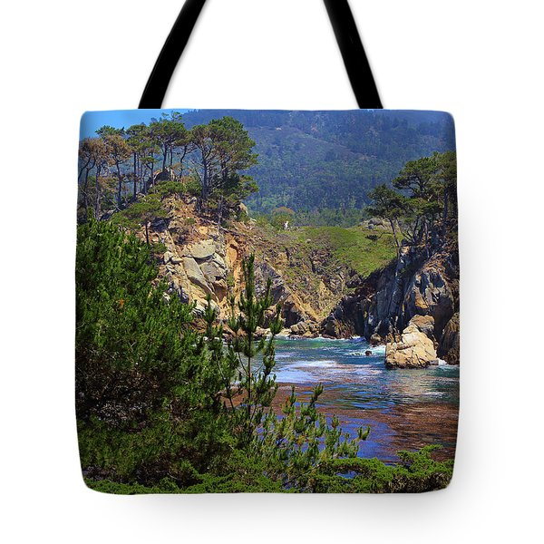 Hot Day In Monterey Tote Bag