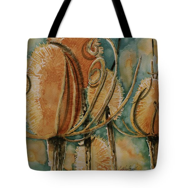 Tote Bag featuring the painting Hot Desert Sun by Cynthia Powell