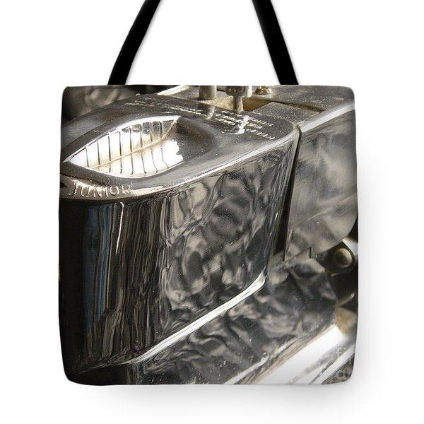 Hot Lather Shave Cream Dispenser Tote Bag by Jason Freedman