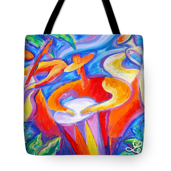 Hot Latin Jazz Tote Bag