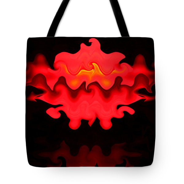 Tote Bag featuring the photograph Hot Lips by Kristin Elmquist