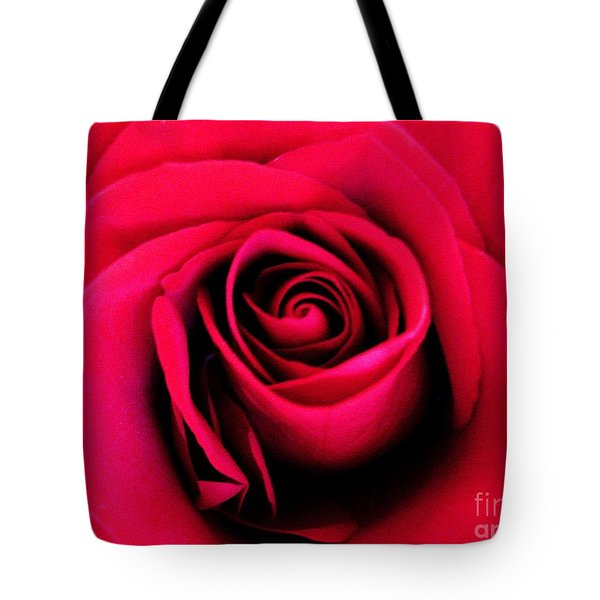 Hot Lips Tote Bag by Molly McPherson