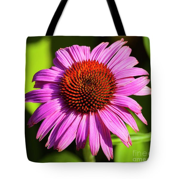 Tote Bag featuring the photograph Hot Pink Flower by Michael D Miller
