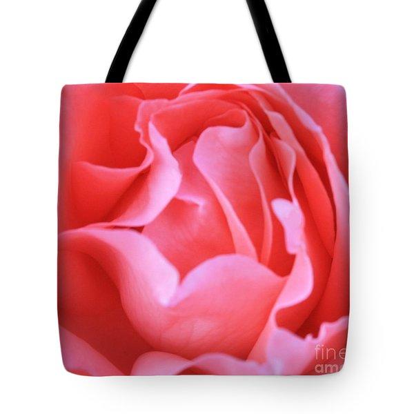 Hot Pink Petals Tote Bag