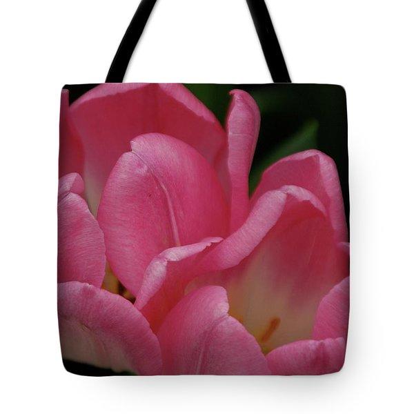 Hot Pink Tulip Tote Bag