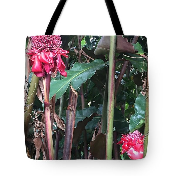 Tote Bag featuring the photograph Hot Pinks by Cindy Charles Ouellette